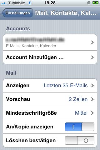 iPhone mit Microsoft Exchange ActiveSync verbinden – Technikblog