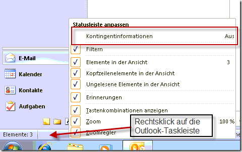 Outlook-2010-Kontingentinformationen-einblenden