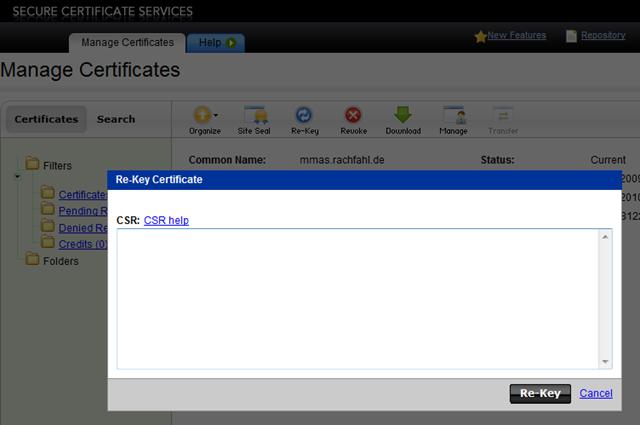 Exchange 2010 mit offiziellem SAN Zertifikat betreiben – Technikblog