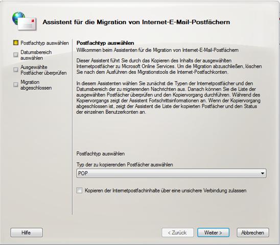 Excel Jedes Arbeitsblatt In Eigenem Fenster : Migration pop zu microsoft online services technik