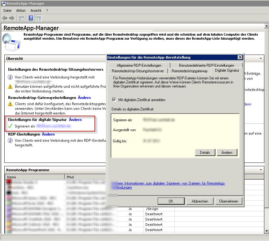 RDS-Farm mit einem gültigen SSL-Zertifikat ausstatten – Technikblog
